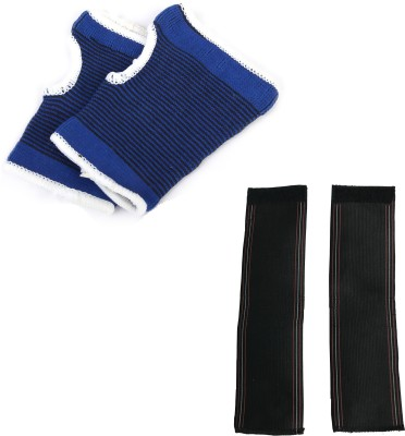 atyourdoor PBlWS02 Palm Support (Free Size, Blue, Black)