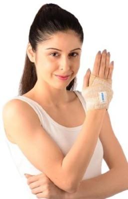 Vissco Wrist Brace UN Wrist Support (Free Size, Beige, Grey)