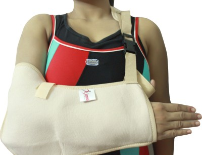 Healcure Arm Shoulder Support (S, Beige)