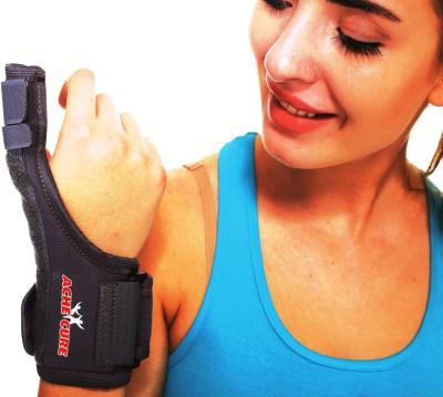 Ache Cure Spica Splint Thumb Support (Free Size, Black)