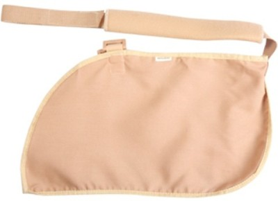 Mgrm 0202-Arm Sling Pouch Elbow Support (XS, Beige, Blue)