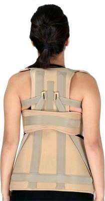 Zcare Pharma Taylor Brace Posture Corrector Lumbar Belt Back & Abdomen Support (S, Beige)
