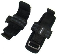 Vector X Weight Lifting Straps Wrist Support (Free Size, Black)