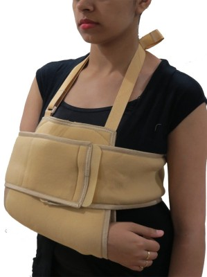 Acco Shoulder Immobilizer Shoulder Support (L, Beige)