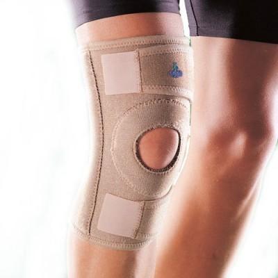 Oppo 1130 Adjustable Knee Stabilizer Knee Support (Free Size, Beige)