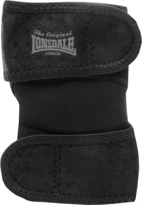 Lonsdale Neo Elbow Support (Free Size, Black)