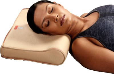 Apex Ortho Apex Cervical Pillow (Regular Size) Neck Support (Free Size, Beige)