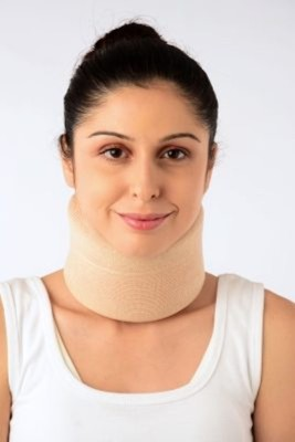 BDB Cervical collar Neck Support (M, Black)