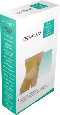 Renewa Elastic Knee Support (M, Beige)