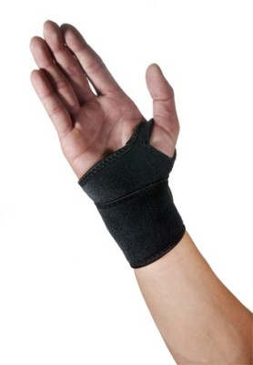 Real Choice T-22 Thumb Support (Free Size, Black)