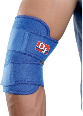 DJ SUPPORT Elbow Support (Free Size, Blue)