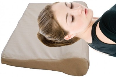 Wonder Care Cervical Pillow Neck Support (Free Size, Beige)