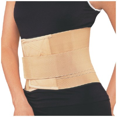 Flamingo Lumbar Sacro Belt Back & Abdomen Support (M, Beige)