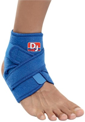 DJ SUPPORT Ankle Support (Free Size, Blue)