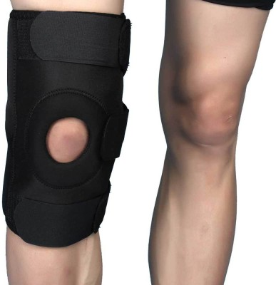 Aktive Support 507 Knee Support (Free Size, Black)