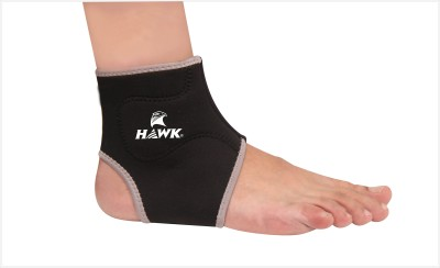 Hawk AW7024 Ankle Support (Free Size, Black)