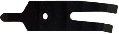 Vinto Open Patella High Quality Neoprene Maximum Comfort Fully Adjustable 1 Pc Knee Support (Free Size, Black)