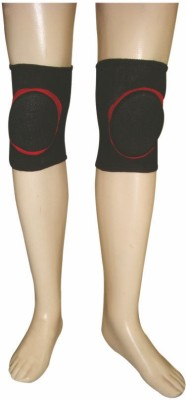 R-Lon Best Ever Knee Support (Free Size, Black)