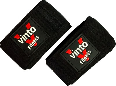 Vinto PRO POWER HAND BANDAGE 2.75 meters Set of 2 pcs Wrist Support (Free Size, Black)