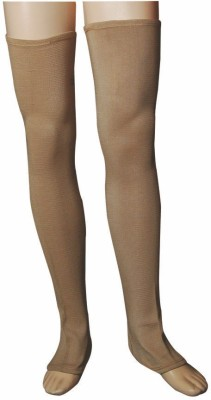 R-Lon Best Ever Knee, Calf & Thigh Support (Free Size, Brown)