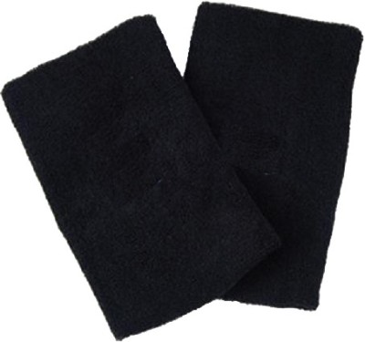 Vinto PRO RELIEF TOWEL STUFF SET OF 2 PCS Knee, Calf & Thigh Support (Free Size, Black)