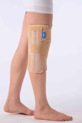 Vissco Brace (Short) Knee Support (L, Beige)