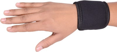RAP WRIST BINDER FULL ELASTIC Wrist Support (Free Size, Black)