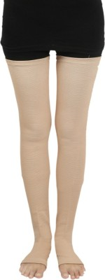 GNRPHARMA Elastic Tubular Vericose Vein Stockings Thigh Length Deluxe Knee, Calf & Thigh Support (S, Multicolor)