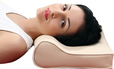 Neutral Supports Cervical pillow Neck Support (Free Size, Beige)