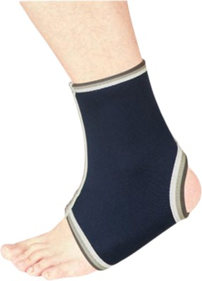 Nivia Adjustable Ankle Support (Free Size, Blue)