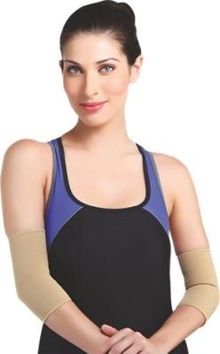 Flamingo Premium Elbow Support (M, Beige)