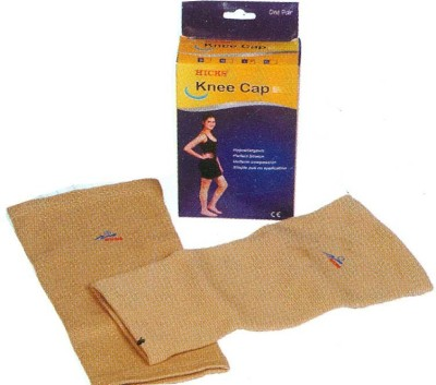 Hicks Cap Knee Support (M, Gold)