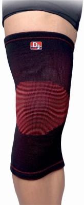 DJ SUPPORT Elastic Knee Support (XL, Black)