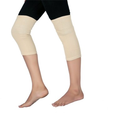 Modern Medical Aids Elastic Tubular Knee Support Deluxe Knee Support (XL, Beige)