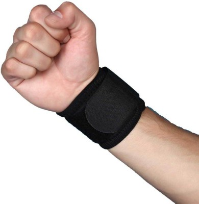 Aktive Support 533 Wrist Support (Free Size, Black)
