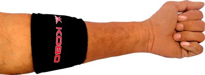 Kobo Tennis Elbow Support Elbow Support (Free Size, Black)