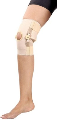 Mgrm 0706-Hinged Knee Support Knee Support (XL, Beige, Blue)