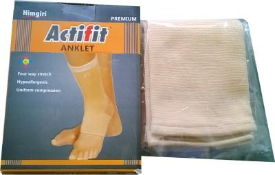 Actifit Premium Quality Ankle Support (M, Beige)