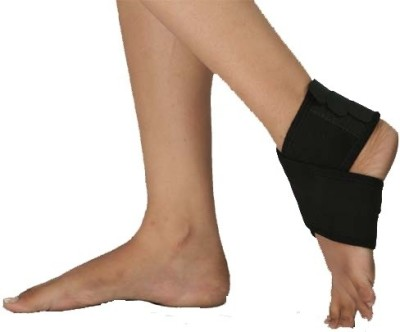 Vkare Binder-Neoprene Ankle Support (Free Size, Black)