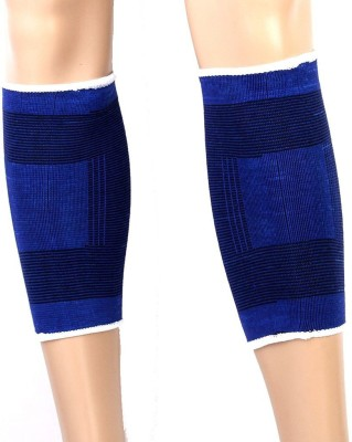DP Enterprise Warmer Elastic Bandage Knee, Calf & Thigh Support (Free Size, Blue)