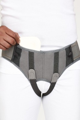Neutral Supports Hernia Belt Abdomen Support (XXL, Grey)