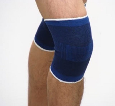 Trendmakerz N1 Combat Hyperstrong Knee Support (M, Blue)