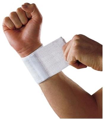 Liveup Ls5750 Wrist Support 8*8cm White Cotton (M, White)