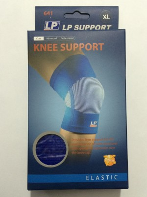 LP Shin Support Knee, Calf & Thigh Support (XL, Blue)