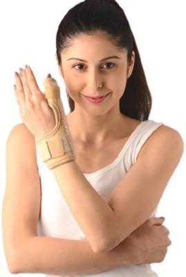Vissco Thumb Spica Finger Splint UN Finger Support (Free Size, Beige, Grey)