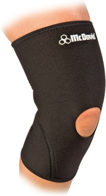 McDavid Open Patella 402R (M) Knee Support (M, Black)