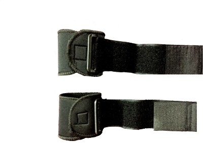 Vinto PRO POWER SET OF 2 PCS Wrist Support (Free Size, Black)