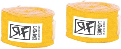 Ring Fight Hand Wrap Wrist Support (XL, Yellow)