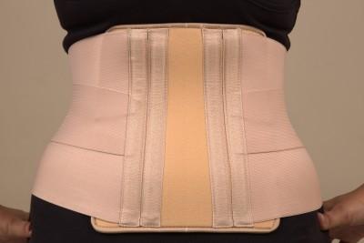 Spi L S Belt Premium Back Support (S, Brown)