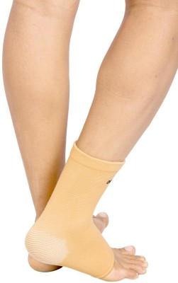 Orthotech Ankle Brace Ankle Support (L, Beige)